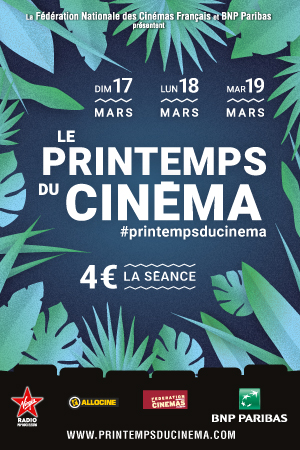 LE PRINTEMPS DU CINEMA